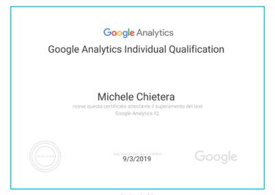 Google Analytics - certificazione academy fors ads