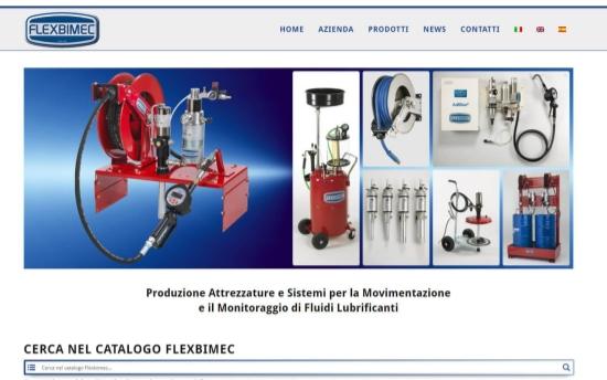 nuovo sito web Flexbimec