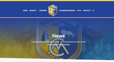 Online il nuovo sito web del Modena Cavezzo Futsal